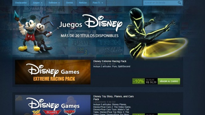 Disney Steam