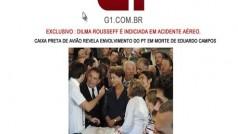Golpe virtual usa o nome de Dilma Rousseff e o acidente de Eduardo Campos como iscas