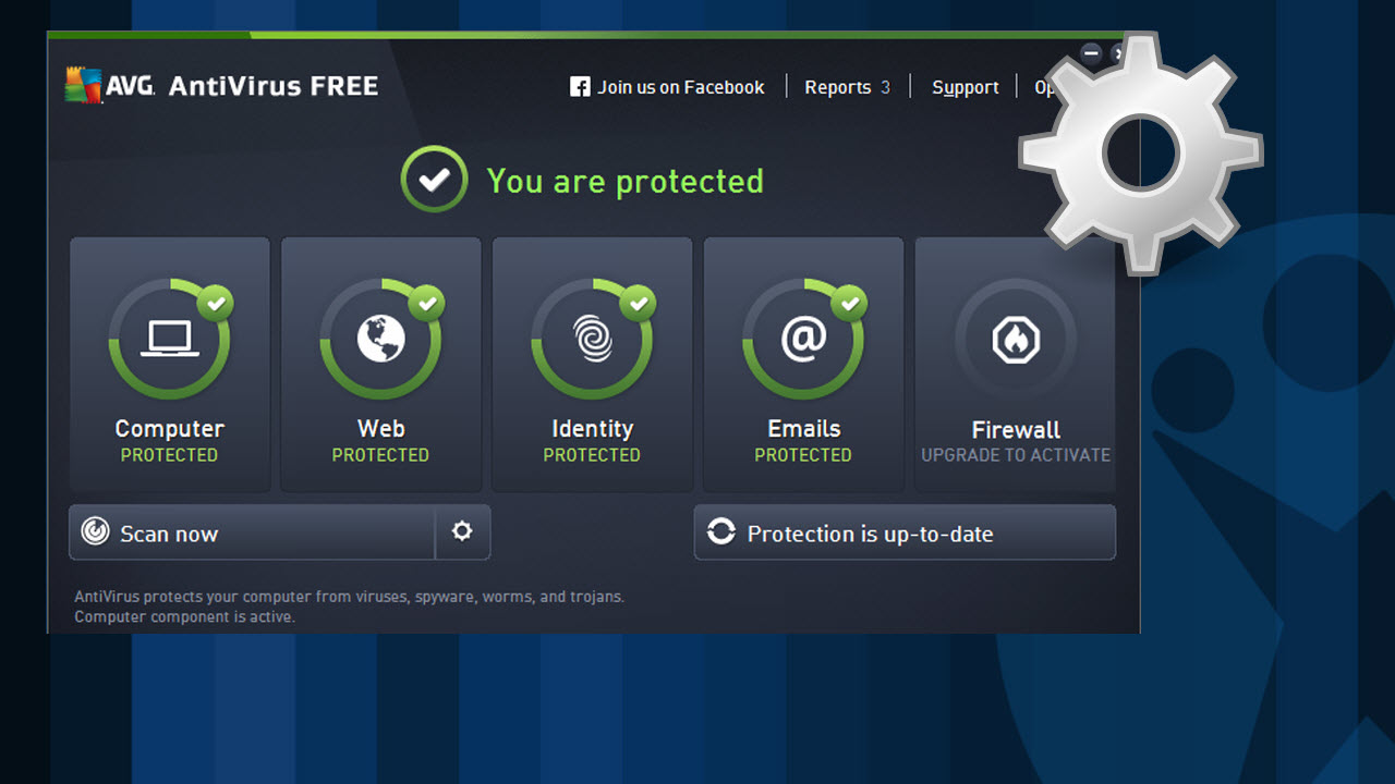 AVG Antivirus for Android smartphones and tablets.