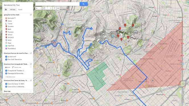 Google Meus Mapas personaliza roteiros