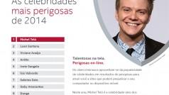 Michel Teló é a celebridade mais usada para crimes virtuais em 2014