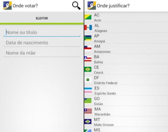 Onde votar ou justificar - Eleições 2014