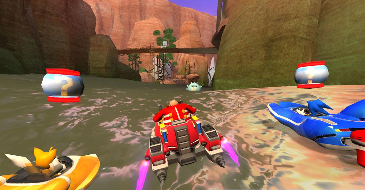 Apesar do nome confuso, Sonic Racing é um ótimo jogo de corrida