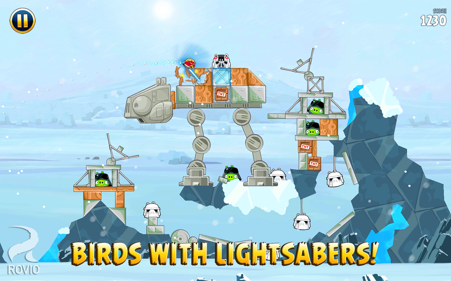 Angry Birds Star Wars B-1 Boba Fett Missions ... - YouTube