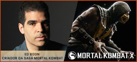 Ed Boon, criador do Mortal Kombat