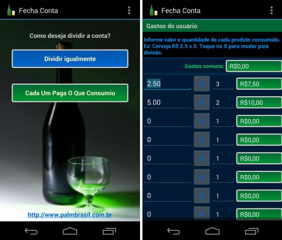 Fecha Conta, o aplicativo justo para dividir contas