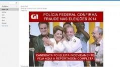 Novo golpe virtual usa falsa notícia sobre fraude nas eleições presidenciais do Brasil como isca