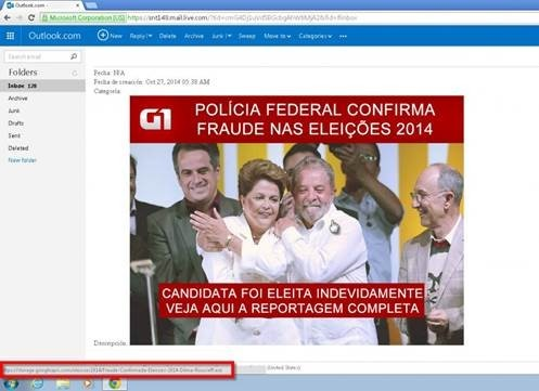golpe virtual eleiçoes