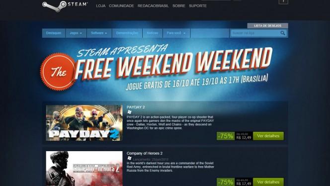 Promoção Steam