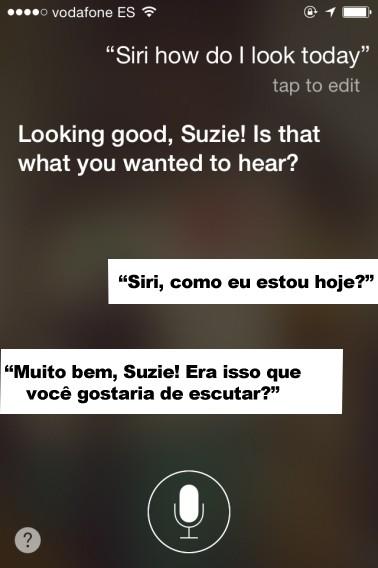 Até perguntas estéticas são respondidas pelo Siri