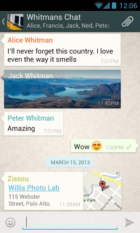 WhatsApp é bastante útil para mandar mensagens gravadas em áudio