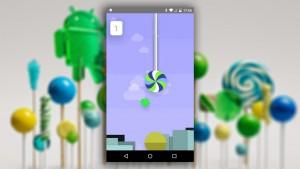 Você já jogou o easter egg do Android Lollipop?