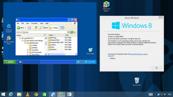 Programas do Windows XP no Windows 8