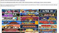 Site disponibiliza grátis mais 900 jogos clássicos de fliperama