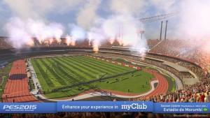 Atualização oficial do PES 2015 chega hoje com Morumbi e Mineirão
