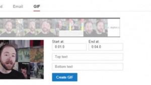 YouTube passa a ter seu próprio criador de GIFs animados