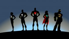 Derrote o vírus-spyware com esta equipe de heróis