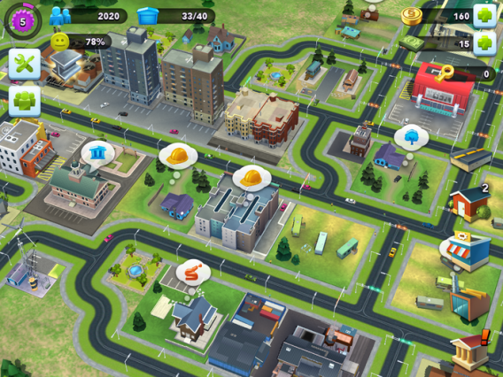 SimCity BuildIt para Android