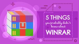 5 coisas que você não sabia sobre o WinRAR