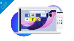 O navegador da Opera oferece a você mais da internet
