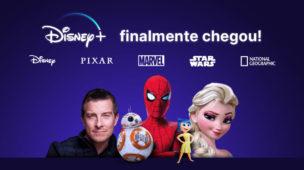 A magia da Disney+ chega ao Brasil