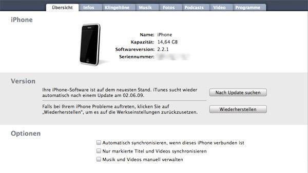 itunes öffnet sich nicht, wenn iphone verbunden ist