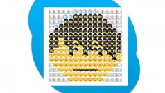Geheime Skype-Emoticons und Smiley-Kunst