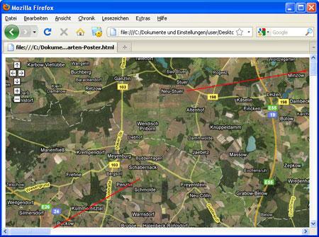Karte ausdrucken google maps