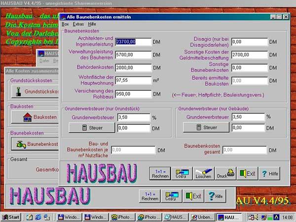 Hausbau Software praktische programme für hausbau umzug und wohnungseinrichtung