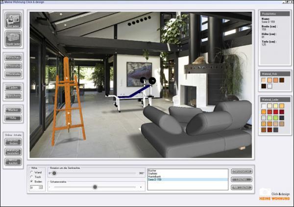 praktische programme f r hausbau umzug und wohnungseinrichtung. Black Bedroom Furniture Sets. Home Design Ideas