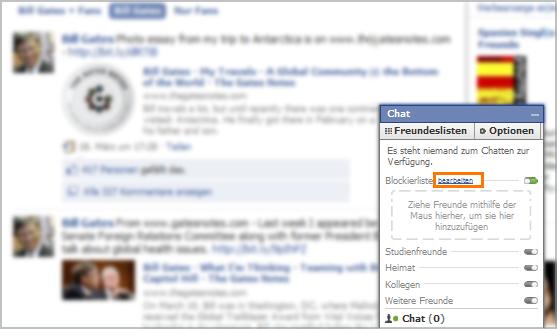 Pornstars Listen auf Facebook 2010