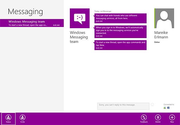 Windows 8 Nachrichten