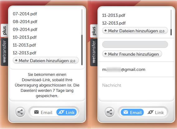 wetransfer-übertragung-link-mail