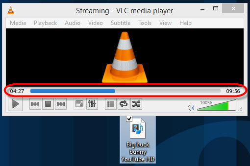Use VLC media player as a video converter to mp4