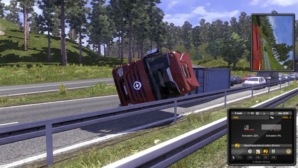Ersteindruck: Mit Euro Truck Simulator 2 durch ganz Europa fahren