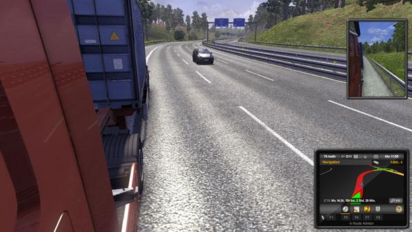 Euro Truck Simulator 2 außen