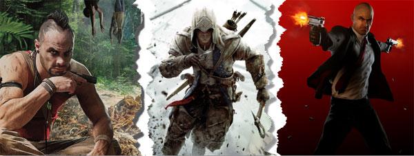 Far Cry 3 vs Assassin's Creed 3 vs Hitman Absolution
