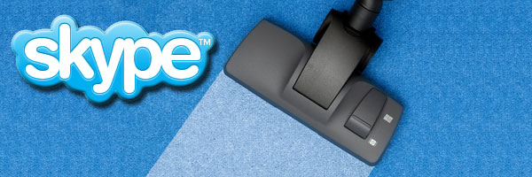 Skype Chat-Protokoll löschen