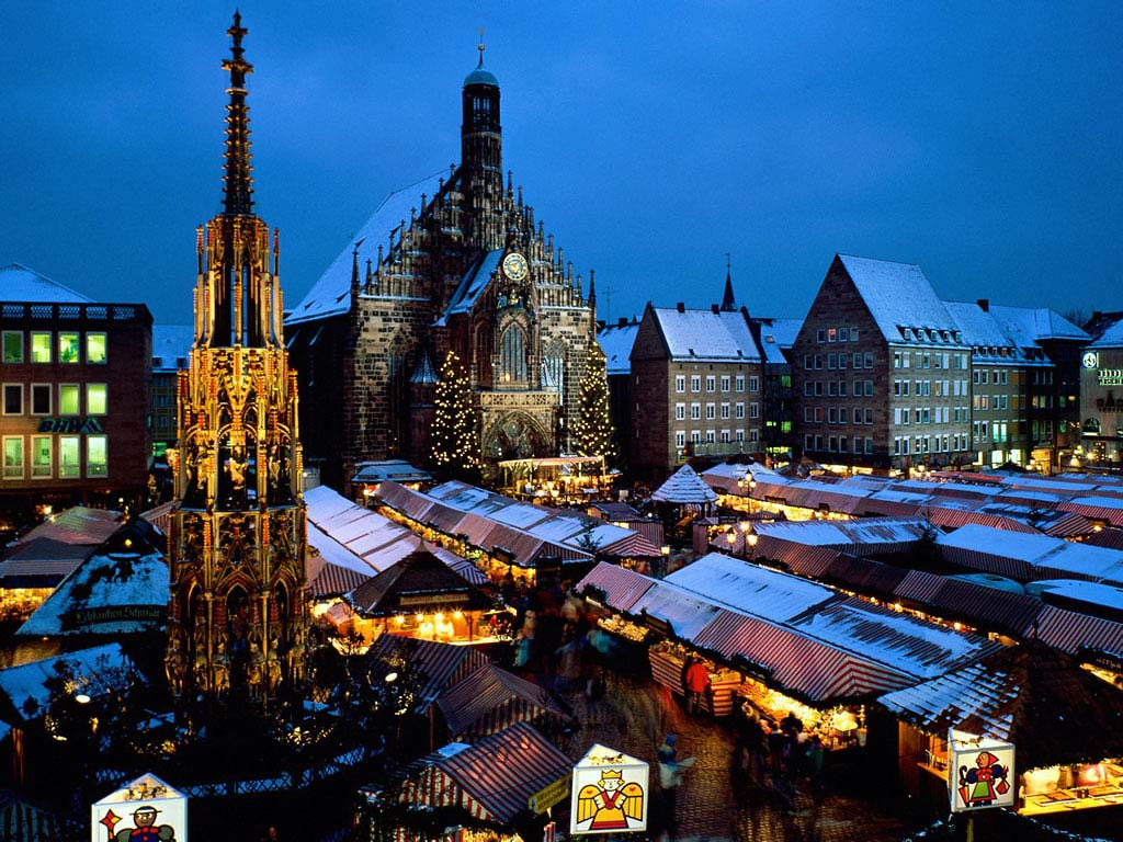 Christkindlesmarkt Nürnberg Wallpaper