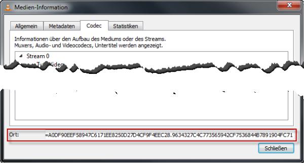 VLC YouTube Videos speicher