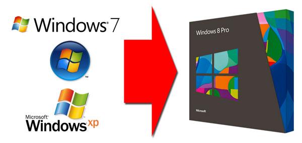 Update auf Windows 8
