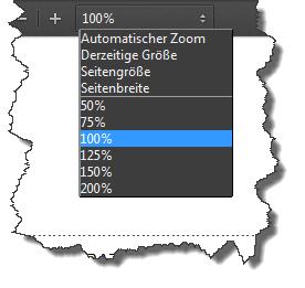 Firefox 19 PDF Zoomstufen