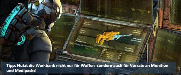 Dead Space 3: Werkbank