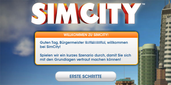SimCity: Tutorial