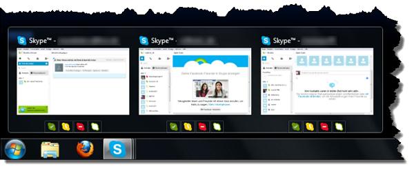Seaside Multi Skype Launcher - Onlinestatus