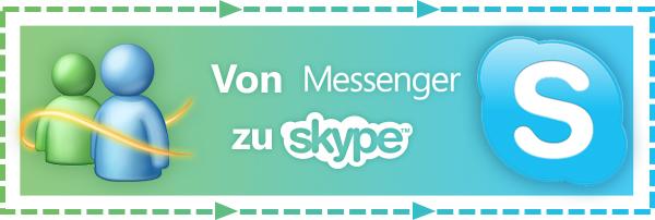 Wechsel von Windows Live Messenger zu Skype