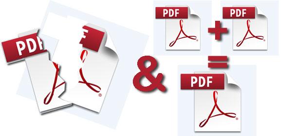 PDF teilen und zusammenführen