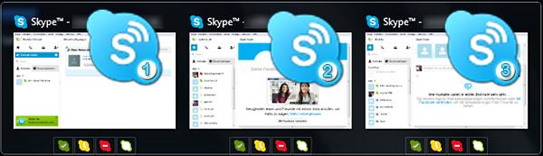 Seaside Multi Skype Launcher