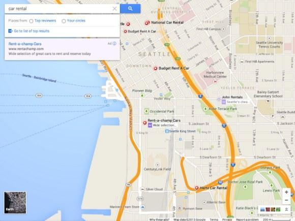 Google Maps: Neues Design in wenigen Tagen?