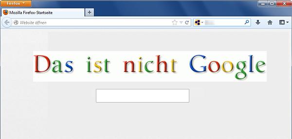 Das ist nicht Google